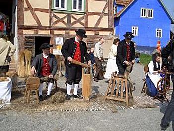Flachsbauern
